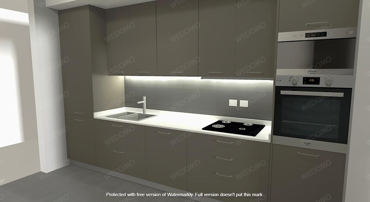 Progetto-3D-cucina-led-moderna-su-misura-Wedomo