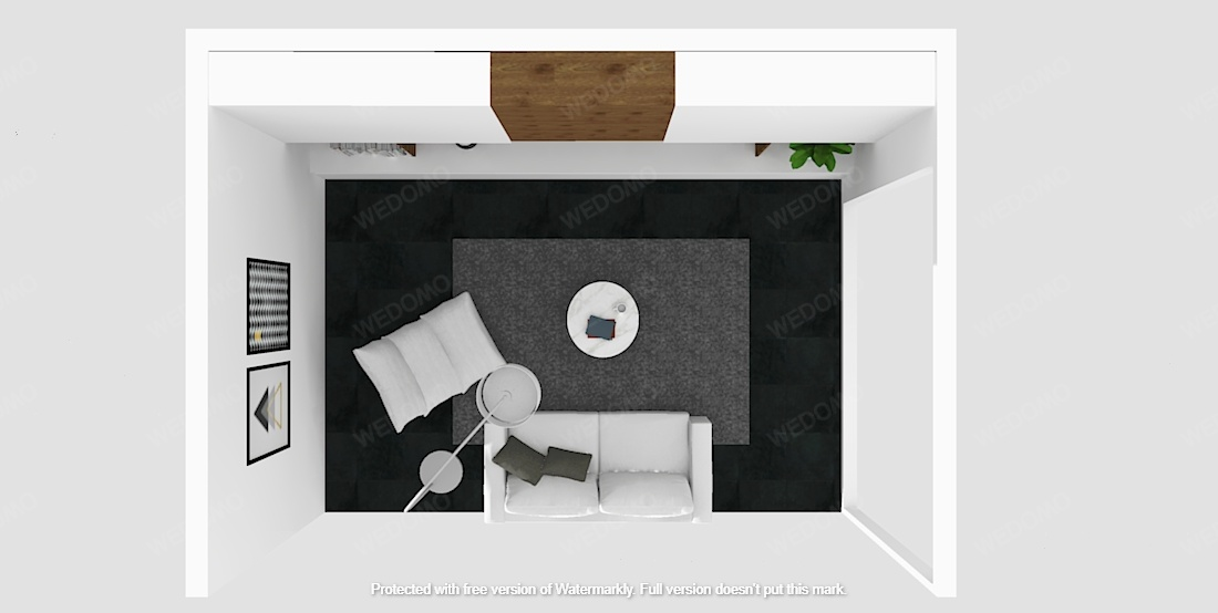 Progetto planimetria 3D Wedomo