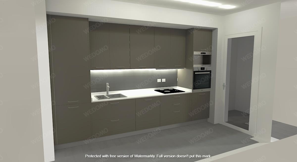 Progettazione cucina su misura 3D Seregno Monza e Brianza Milano
