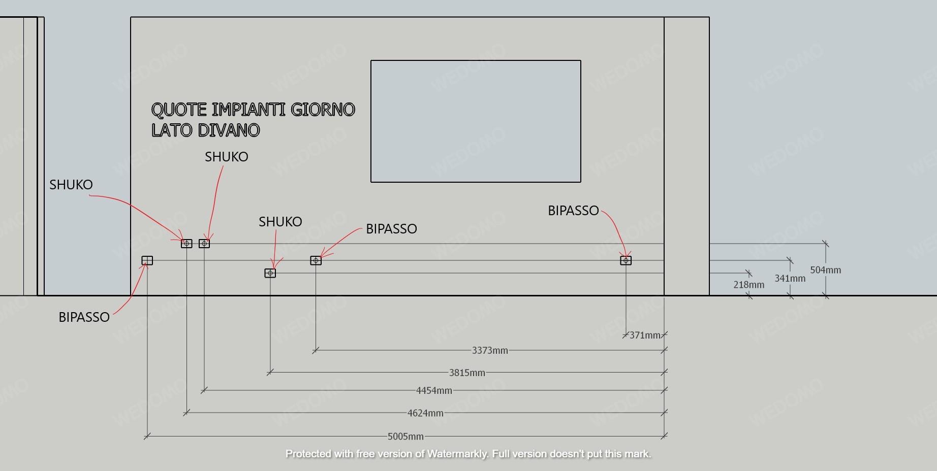 Progetto-schema-impianti Wedomo